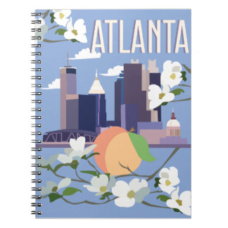 Atlanta Spiral Notebook