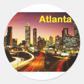 Atlanta (USA) (St.K) Classic Round Sticker