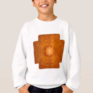 Atlantean Crafts Copper on Amber Wood Sweatshirt