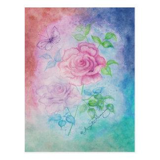 Atlantean Roses Art Cards Postcard