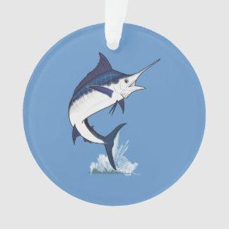 Atlantic Blue Marlins Ornament