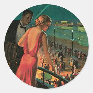 Atlantic City ~ All Year Resort Round Stickers