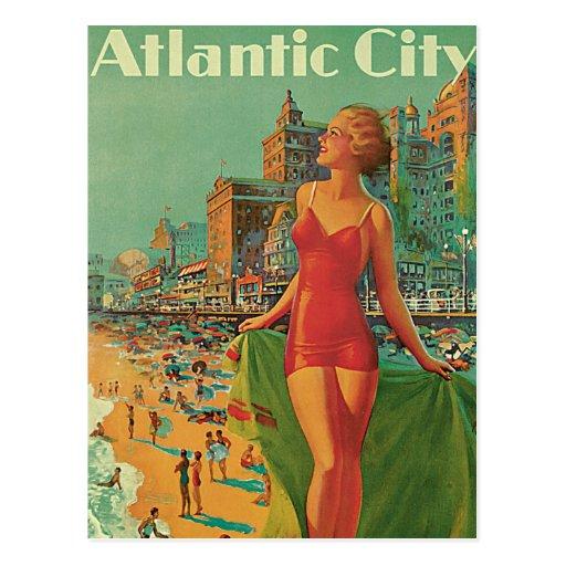 Atlantic City - America's All Year Resort Postcard