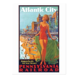 Atlantic City America's All Year Resort Postcard