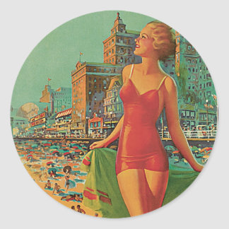 Atlantic City - America's All Year Resort Sticker