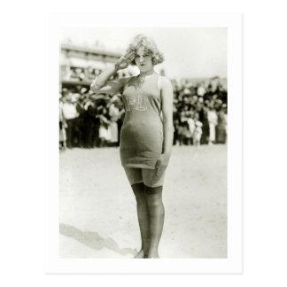 Atlantic City Beauty, early 1900s Postcard