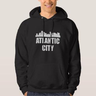 Atlantic City NJ Skyline Hoodie