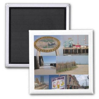 Atlantic City Photo Collage Magnet