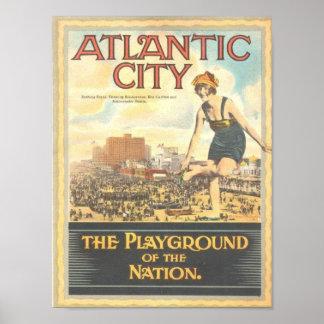Atlantic City-Playground of the Nation Print