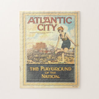 """Atlantic City-Playground of the Nation"" Puzzle"