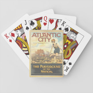 """Atlantic City-The Playground of the Nation"" Playing Cards"