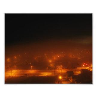 "Atlantic City Under Fog 10"" x 8"" Print Art Photo"