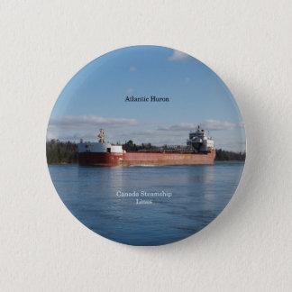 Atlantic Huron button