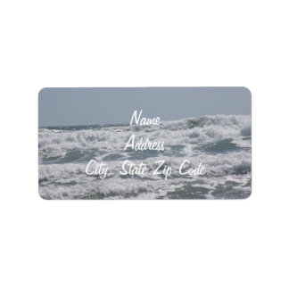 Atlantic Ocean Address Labels