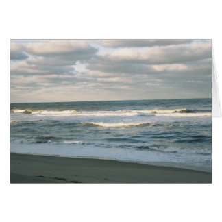 Atlantic Ocean, NC  Note card