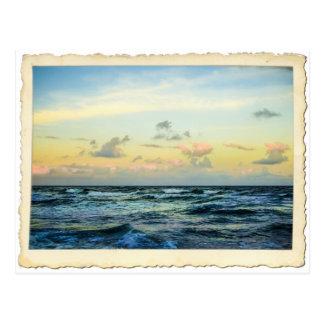 Atlantic Ocean Treasure Coast Postcard