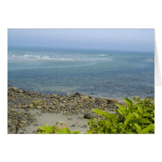 Atlantic Ocean view, Ogunquit, ME Card
