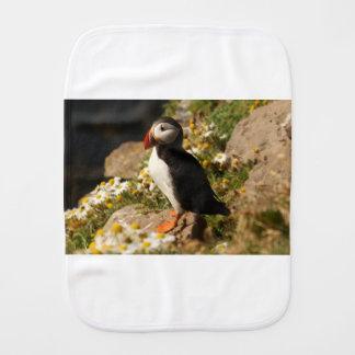 Atlantic Puffin Burp Cloth