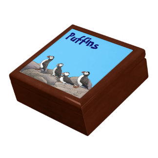 Atlantic Puffins Gift Box