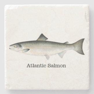 Atlantic Salmon Fish Stone Coaster