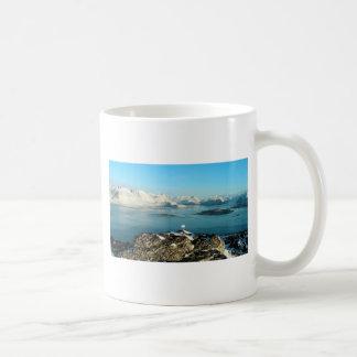Atlantic scenery basic white mug