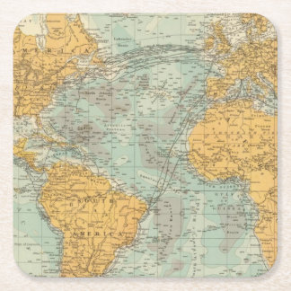 Atlantic Square Paper Coaster