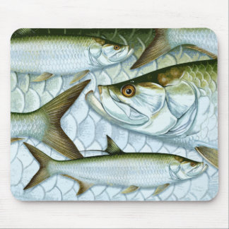 Atlantic Tarpon Mouse Pad