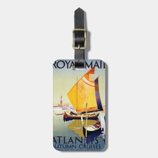 Atlantis Autumn Cruises Travel Bag Tag