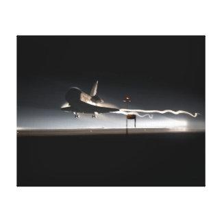 Atlantis Farewell Landing Canvas Print