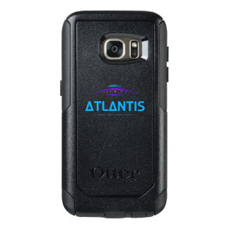 Atlantis, print shows a beautiful UFO sketch OtterBox Samsung Galaxy S7 Case