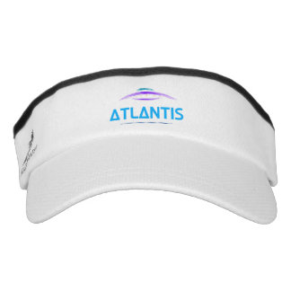 Atlantis, print shows a beautiful UFO sketch Visor