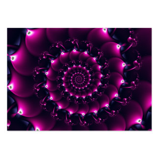 Atlantis seashell (purple) business card
