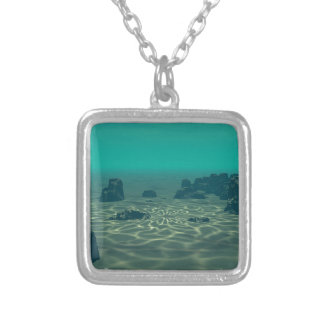 Atlantis Silver Plated Necklace