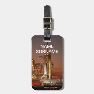 Atlantis Space Shuttle launch NASA Luggage Tag