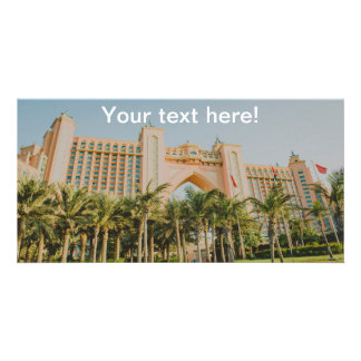 Atlantis The Palm, Abu Dhabi Customised Photo Card