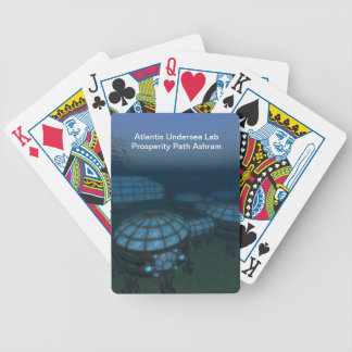 Atlantis Undersea Lab Prosperity Path Ashram Bicycle Playing Cards