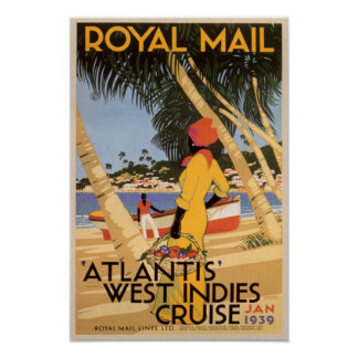 Atlantis West Indies Cruise Print