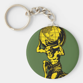 Atlas Keychain (Greek Mythology)