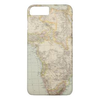 Atlas Map of Africa iPhone 7 Plus Case