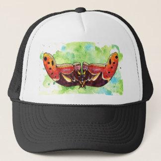 Atlas moth trucker hat