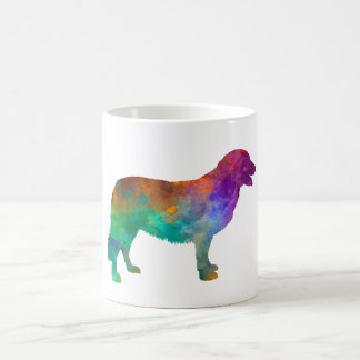 Atlas Mountain Dog in watercolor Coffee Mug