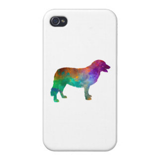 Atlas Mountain Dog in watercolor iPhone 4/4S Cases