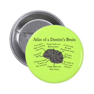 Atlas of a Dentist s Brain Button