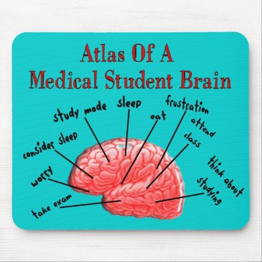 Atlas of Medical Student Brain Mousepad
