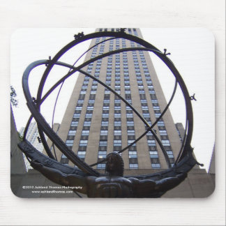 Atlas Sculpture and 30 Rock in NYC Mousepad