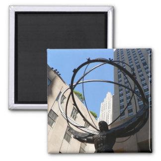Atlas Square Magnet