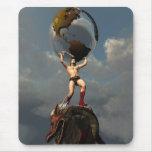 Atlas the Titan Mousepad