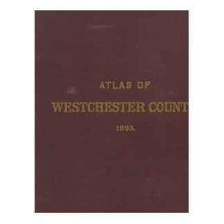 Atlas Westchester Co, NY Postcard