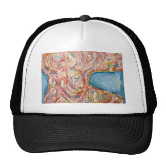 Atlas's Back and Shoulders(abstract expressionism) Cap
