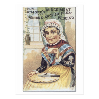 Atmore's Mince Meat Postcard